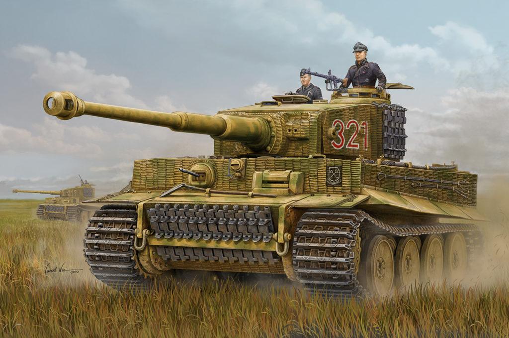 Танк Panzer VIE «Tiger» (Sd.Kfz.181)