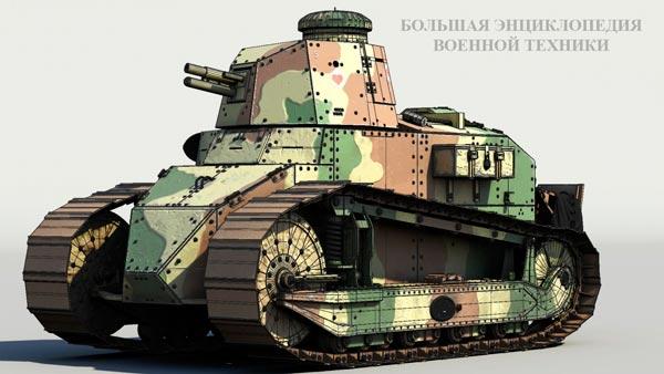 Французский танк FT17