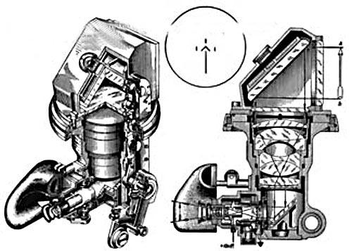 Конструкция ночного прицела ТПН-1 и его оптическая схема
