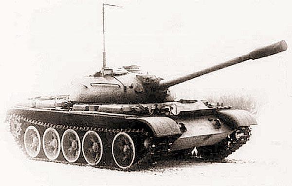Опытный танк Т-55 с телевизионной аппаратурой «Уран»