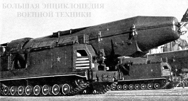 """Первый вариант СПУ на шасси """"объект 815"""""""