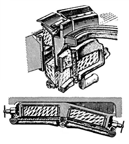 Призменные перископические смотровые приборы мехника-водителя средних танков