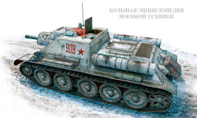 САУ СССР Второй Мировой войны