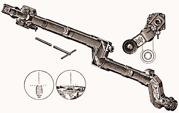 Танковый упрощенный прицел ТУП