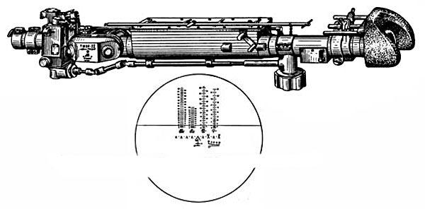 Телескопический шарнирный прицел ТШ2А-22
