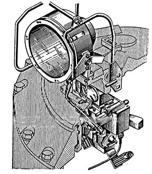 Установка ночного прибора наблюдения командира ТКН-1 по-боевому